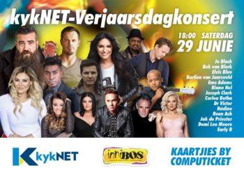 Saterdag 29 Junie 2019 – kykNET-Verjaarsdagkonsert