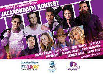 Vrydag, 18 Desember 2020 – JacarandaFM-konsert