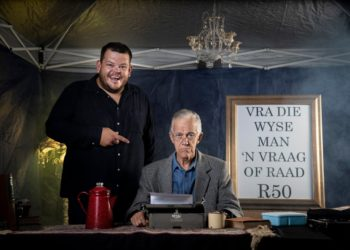Tobie Cronjé en Wynand van Vollenstee in Innibos 2020 saam in pragproduksie